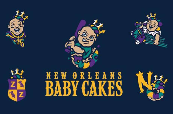 Sweet New Logo: The Story Behind the New Orleans Baby Cakes