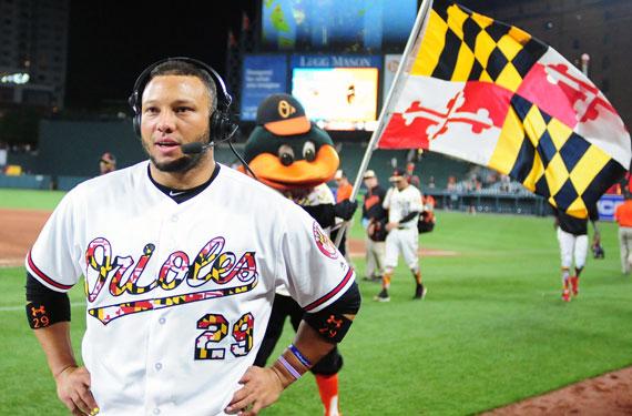 Orioles Maryland Pride Evan Habeeb-USA TODAY Sports