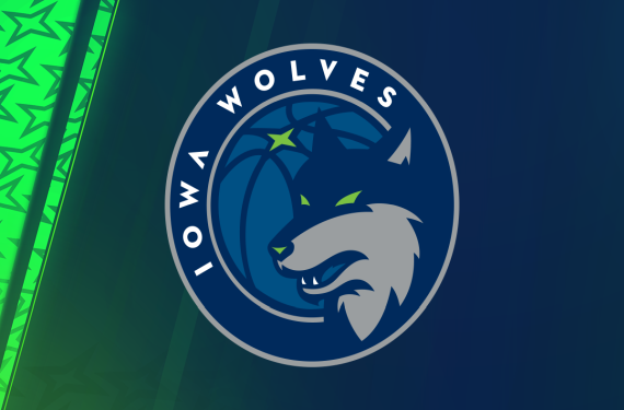 Iowa Energy re-brands and becomes the Iowa Wolves
