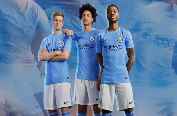 Manchester City goes back 50 years for inspiration for 2017-18 kit