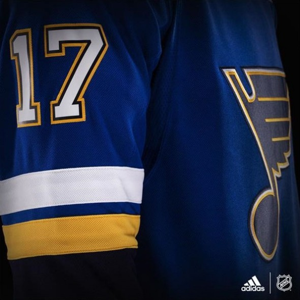 Blues White Number