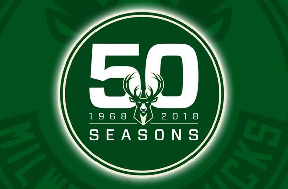 Milwaukee Bucks Celebrate 50 Years With New Anniversary Logo
