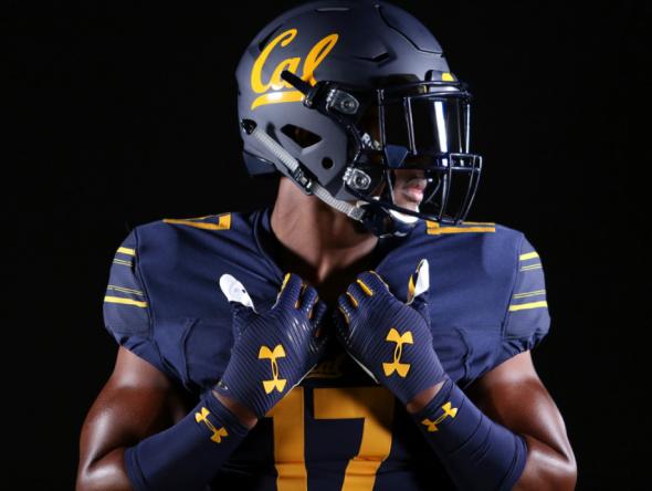 California Golden Bears unveil new Under Armour-designed football ... 9edc1217e