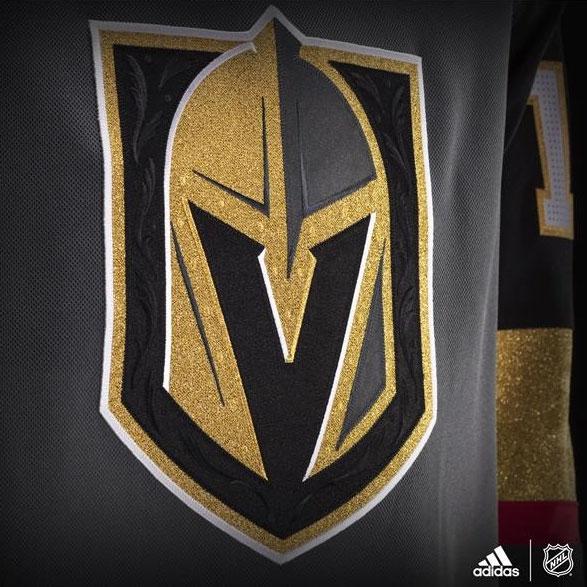 Golden Knights Crest Detail
