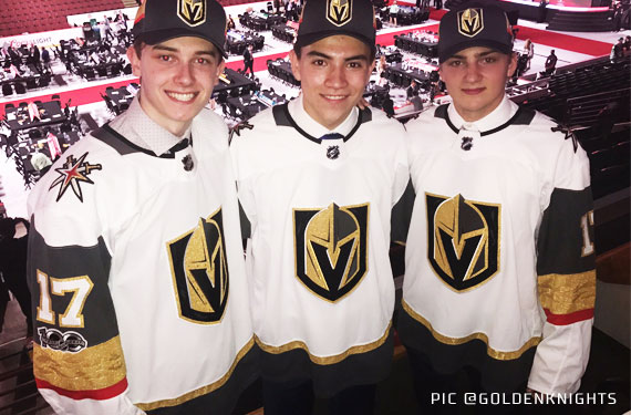 Several New Road Jerseys Unveiled on NHL Draft Day