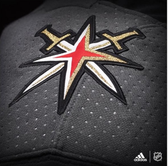 Golden Knights Shoulder Detail