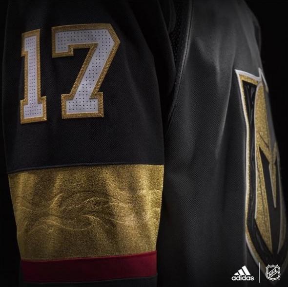 Golden Knights Sleeve Detail