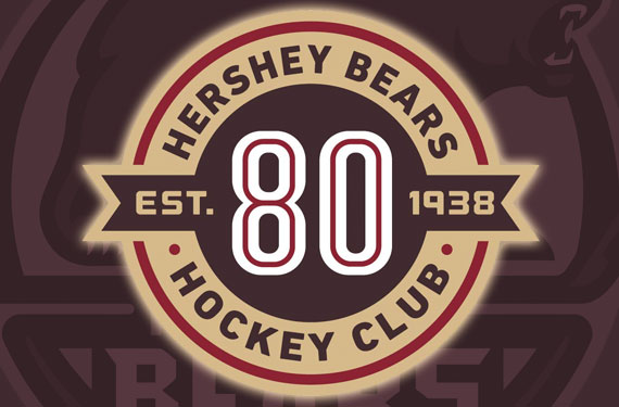 Hershey Bears Celebrate 80 Years With Special Logo