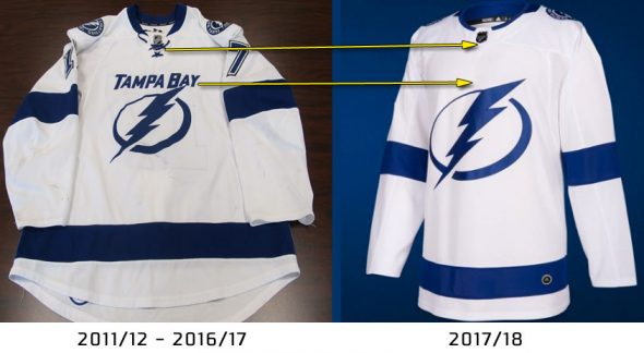 the latest d0e8c 2cbb7 Several New Road Jerseys Unveiled on NHL Draft Day | Chris ...