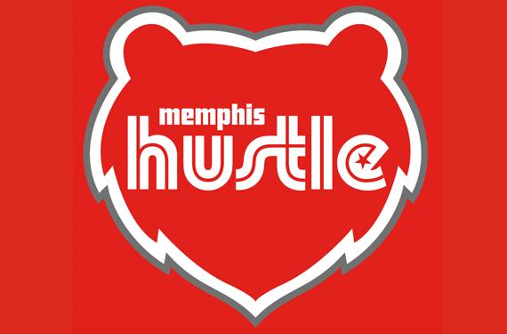Memphis Hustle Primary Logo