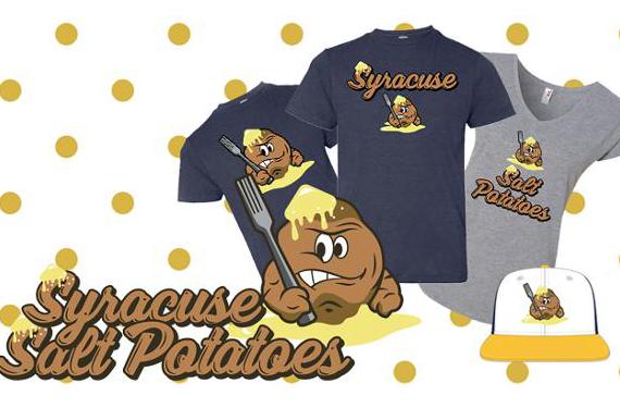 Say hello to the Syracuse Salt Potatoes