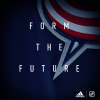 Columbus Blue Jackets Adidas Jersey Teaser