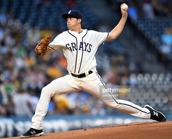The Pirates last wore Homestead Grays uniforms on September 9, 2016