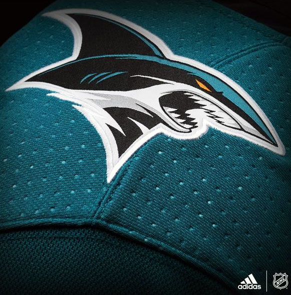 Sharks Shoulder Logo