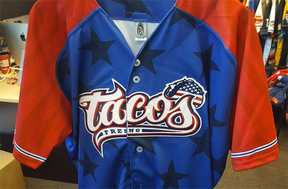 Fresno Grizzlies unveil Fourth of July Tacos jerseys