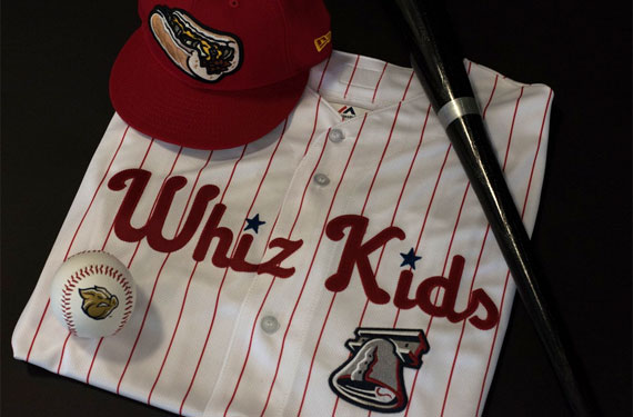 IronPigs to honor Phillies history, cheese with uniforms