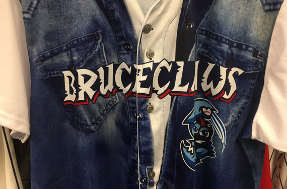 Lakewood BlueClaws pay homage to The Boss as BruceClaws