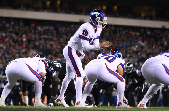 New York Giants will wear white Color Rush uniforms for Week 14 home game