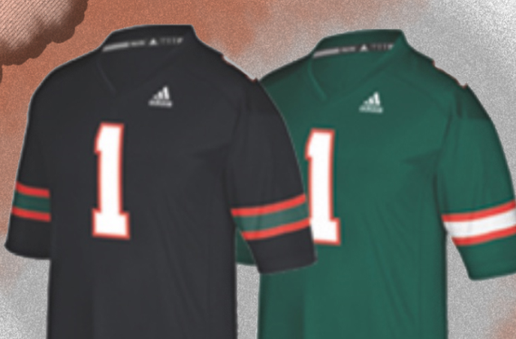 Miami Hurricanes set to add green jersey and black jersey to uniform set