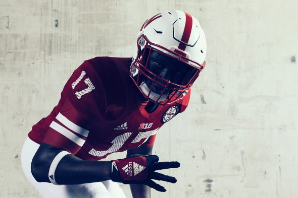 4985d5c0e Nebraska will wear these for one game — on October 7 against the Wisconsin  Badgers. So