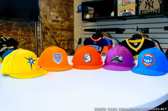 9f8b4a6da Alternate logos are a common sight on the Players Weekend ballcaps