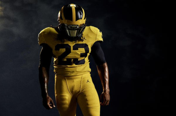 6c558e057f3 Michigan Wolverines and Florida Gators will have college Color Rush game
