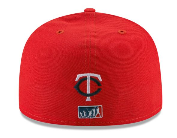 5293b076d The MLB Evolution logo on the back of a cap