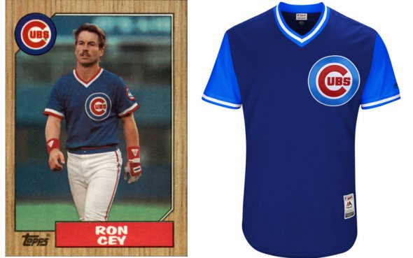 "0318a112d00 Chicago Cubs 2017 ""Players Weekend"" jersey gives off a 1980s vibe"