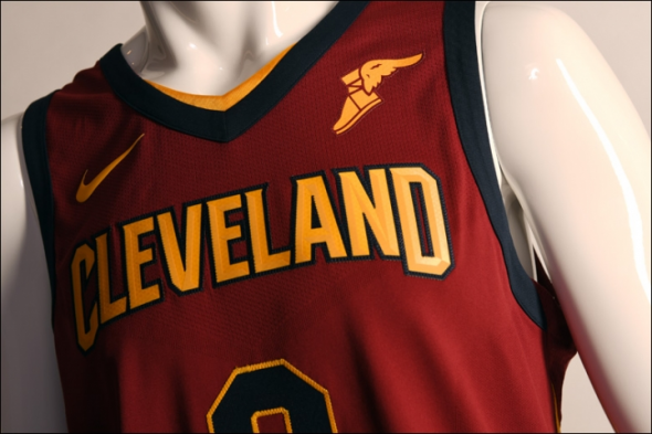 a9a1a129a Cleveland Cavaliers officially unveil new Nike uniforms