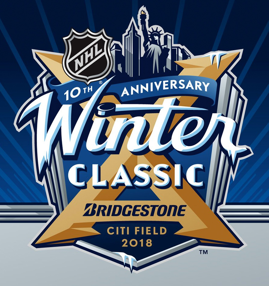 Sabres, Rangers Logos Revealed for 2018 NHL Winter Classic
