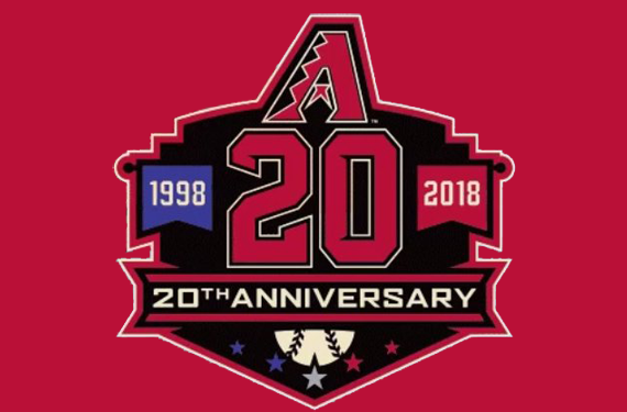 Arizona Diamondbacks unveil 20th anniversary logo