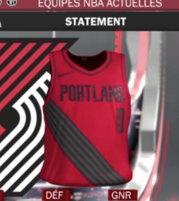 Video Game Leaks Full Set of New NBA Alternate Jerseys