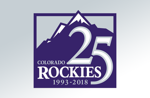 Rockies unveil 25th anniversary logo