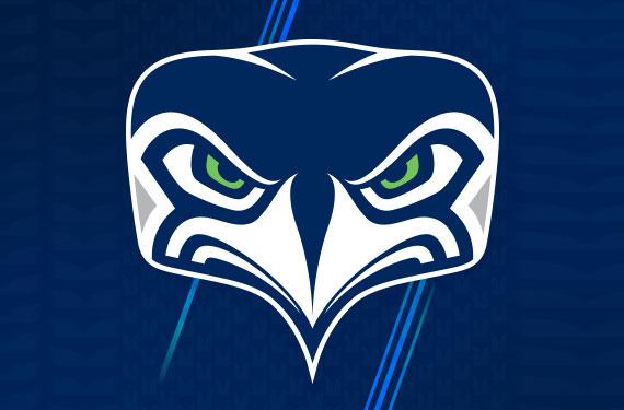 seattle seahawks unveil new alternate logo chris creamer s