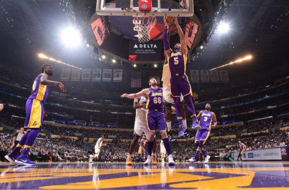 Los Angeles Lakers wear purple for home game