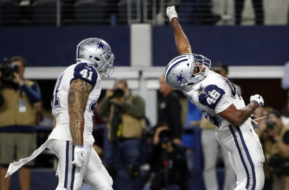 Dallas Cowboys will wear white pants with primary navy jerseys