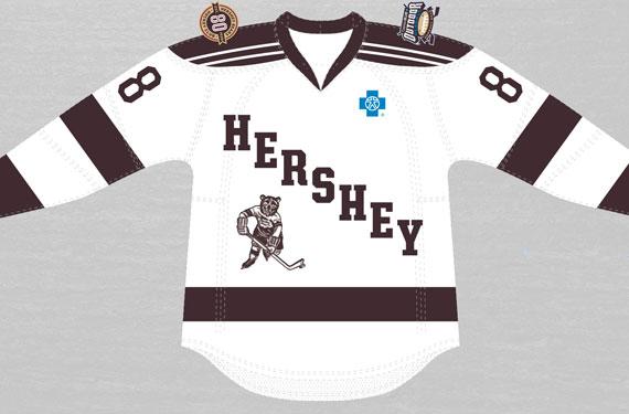 Hershey Bears unveil Outdoor Classic jersey