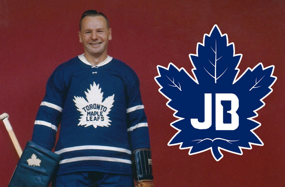 Maple Leafs Honour Johnny Bower With Memorial Patch