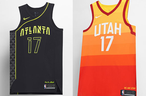 38e5c60b4 NBA City Edition Uniforms Officially Unveiled by Nike