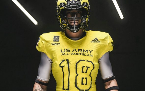 Adidas is once again the official outfitter of the Army All-American Bowl  and this year it s an especially big deal since the uniform supplier is  unveiling ... 1ef2faebd