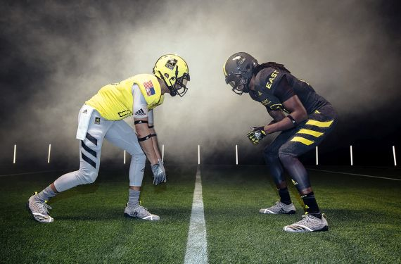 Adidas will debut new football template for 2018 Army All-American Bowl