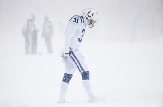 Colts wear all-white in snowstorm and it ruins film study for Broncos