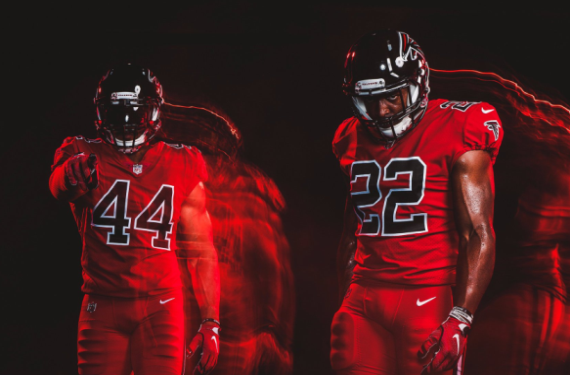 the latest 952cc 0605d Atlanta Falcons will finally wear Color Rush uniforms ...