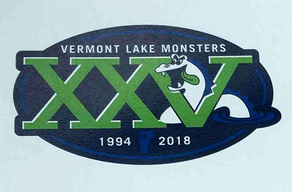 Vermont Lake Monsters commemorate 25th season