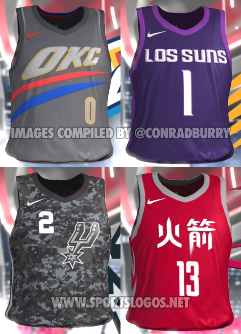 "d60735e72 What do you think of these initial ""official"" looks at the jerseys  Let us  know in the comments below…"