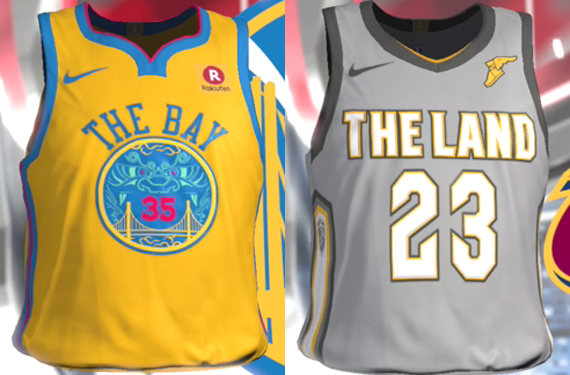 Video Game Leaks Nearly Full Set of NBA City Edition Alternate Jerseys