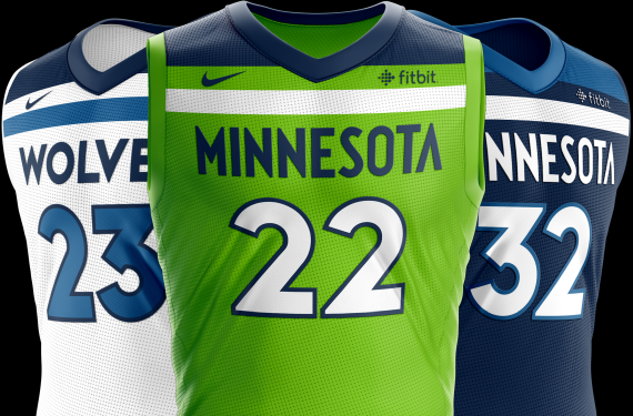 Minnesota Timberwolves will not wear fourth jersey until February 1st