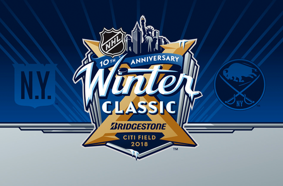Sabres, Rangers Dressing Up for 2018 Winter Classic Today