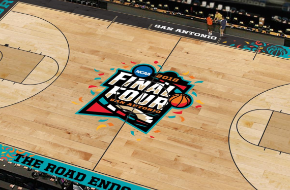 2018 Final Four court goes with Fiesta theme in San Antonio