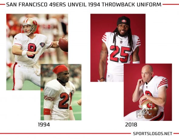 sale retailer a58eb 92763 49ers Throw It Back to the 94ers, Unveil Alternate Uniform ...